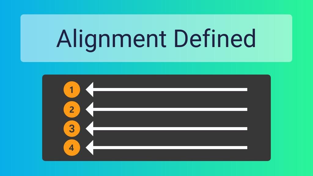 Alignment Design Principle Alignment Definition Venngage