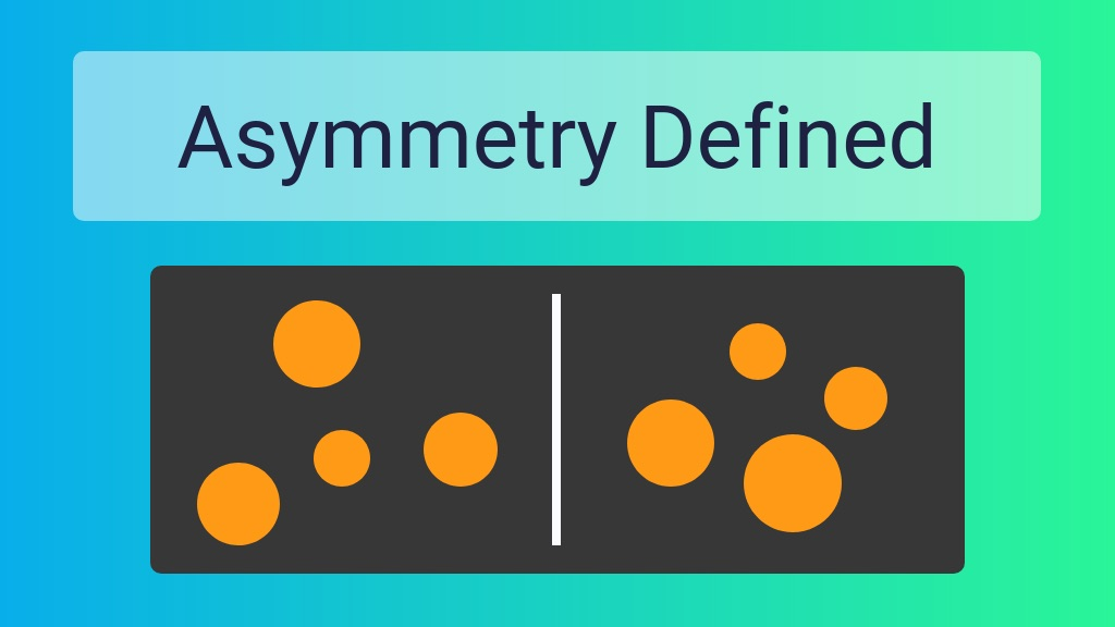 Asymmetry Definition Venngage