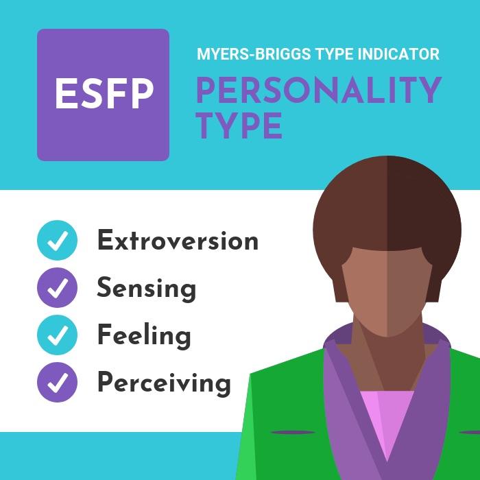 ESFP Acronym Personality Type Instagram Post Template Venngage