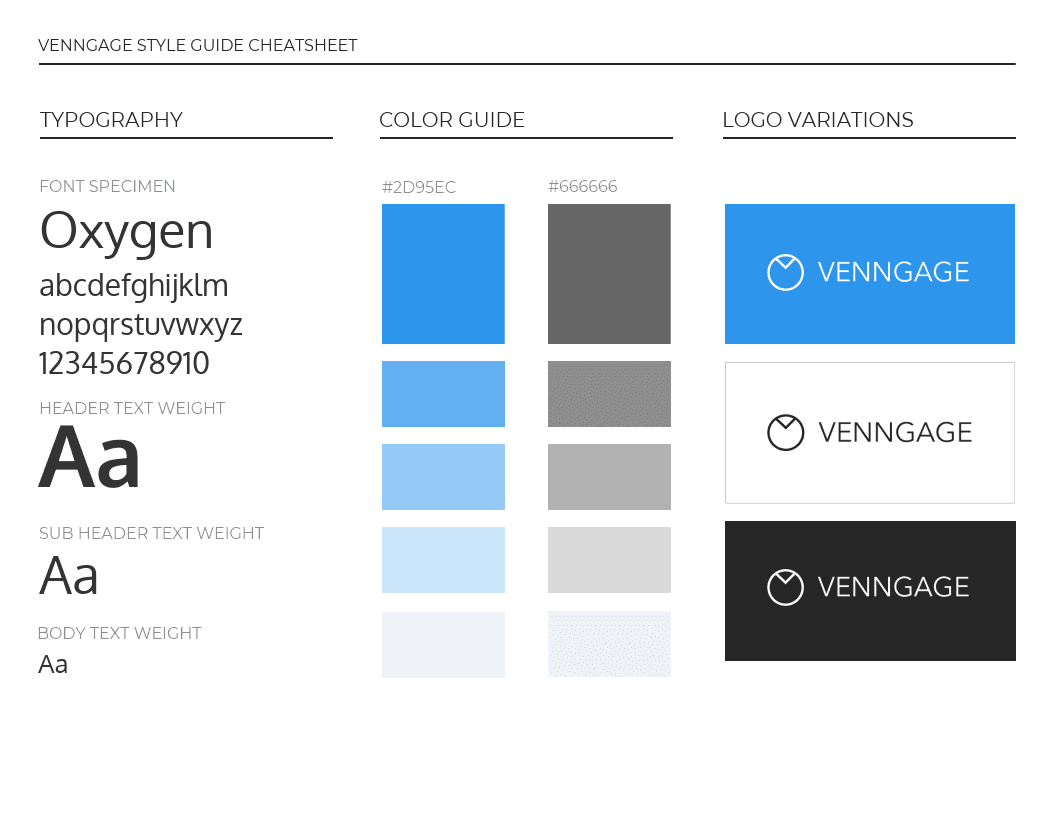 Venngage Brand Style Guide